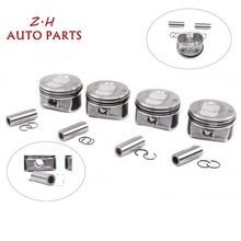 NEW Engine Rebuilding Kits & STD Piston Assembly 03C 107 065 BF Pin 19mm For Audi A1 VW Golf Passat Tiguan 1.4TSI 103 383 AE