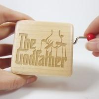 Handmade smilelife gỗ hộp nhạc music box, the godfather music box, đặc biệt thương hiệu quà tặng cho birthday Giáng Sinh năm mới miễn phí vận chuyển