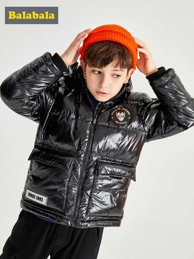 Balabala/новый стиль; Детский пуховик; зимняя Лыжная одежда для мальчиков; детская зимняя куртка для подростков; парка для маленьких мальчиков; теплое зимнее пальто с капюшоном
