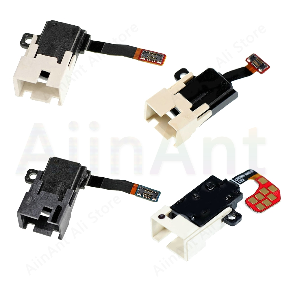 For Samsung Galaxy S7 Edge S8 S9 Plus A3 A5 A7 2017 Original Audio Headphone Jack Flex Cable Phone Repair Parts Phone Parts