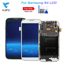 1PCS/lot S4 i545 LCD Screen For SAMSUNG Galaxy S4 I9500 i9505 LCD Display Touch Screen display With frame Replacement все цены