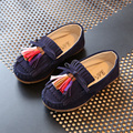 Весна дети Девочки Плоские Shoes Fringe Кисточкой Детские Slip On Shoes Princesse Chaussure Fille Талон Девушки Танцуют Shoes TX38