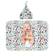 60 X 80cm Soft Cotton Newborn Baby Infant Swaddling Blanket Sleep Swaddle Wrap Bath Towel For Baby Girls Boys Kids