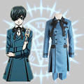 Ciel Phantomhive uniform cosplay costume Japanese anime Black Butler clothing full set
