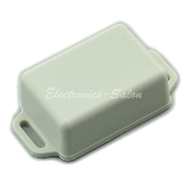 Small Wall-mounting Plastic Enclosure Box Case, White, 51x36x20mm, HIGH QUALITY.