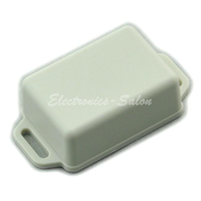 Small Wall-mounting Plastic Enclosure Box Case, White, 51x36x20mm, HIGH QUALITY.