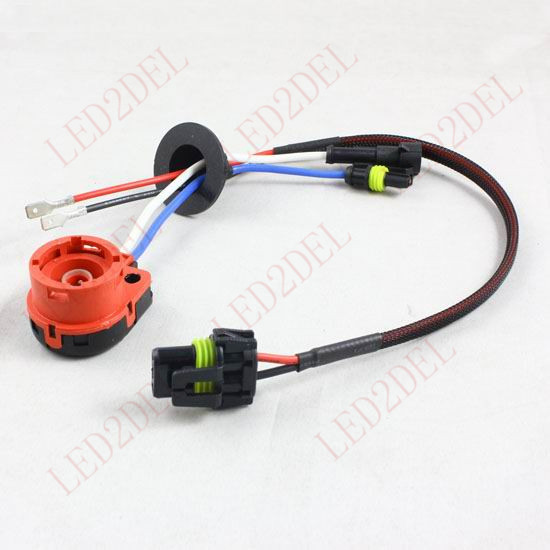 D2S D2R D2C D4S D4R D4 Turn AMP HID Xenon Connector Wiring Harness Bulbs Adapter Holder aliexpress com buy d2s d2r d2c d4s d4r d4 turn amp hid xenon wire harness holder at bakdesigns.co
