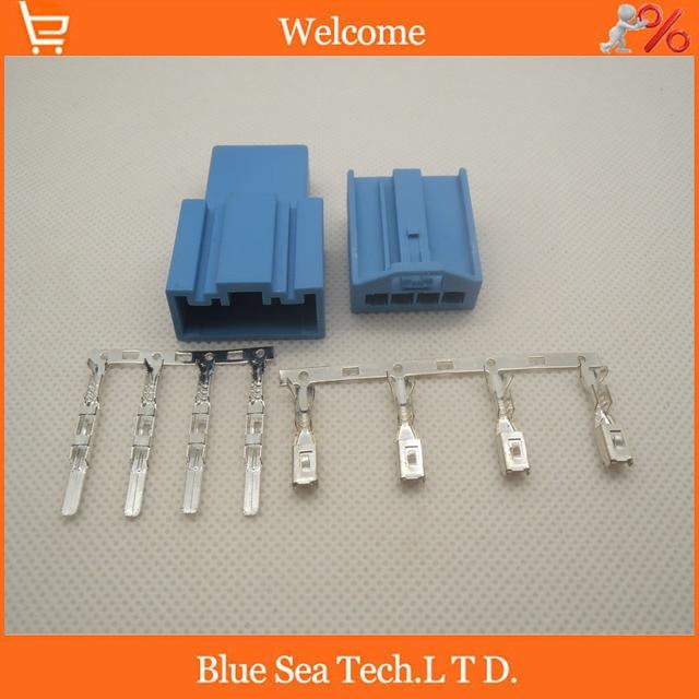 4 pin auto connector car speaker plug auto bass plug car electric rh aliexpress com AC Plug Wiring Electrical Plug Wiring