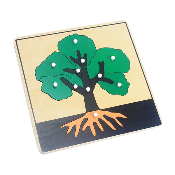 Baby Montessori Materials Wooden Puzzles Educational Toys Plant Growth Panel Wood Toy Learning Tangram/Jigsaw Toddlers Preschool 8