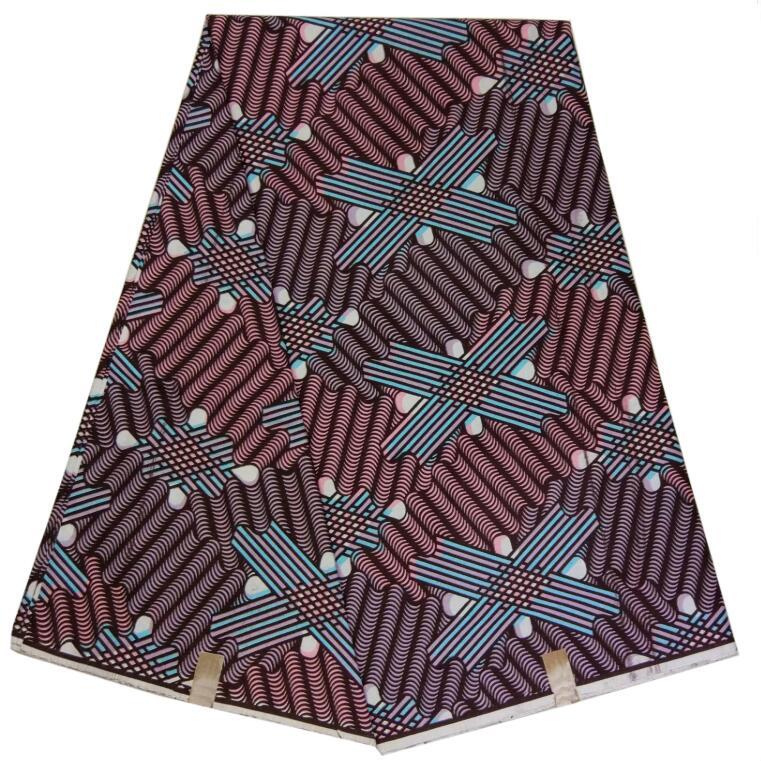 African Super Wax African Wax Fabric Cotton 6 Yards