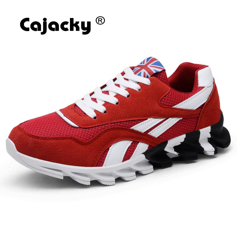 Cajacky Men Sneakers Breathable Mesh Men Shoes 2018 Fashion Casual Shoes Men Trainers Shoes Summer Zapatos Hombre Outdoor Casual