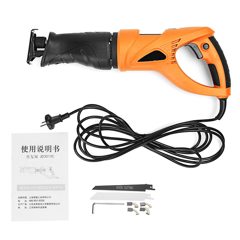 220V 850W Variable Speed Reciprocating Saw Electric Power Cutting Tools Multifunctional Woodworking Metal Cutting Machine220V 850W Variable Speed Reciprocating Saw Electric Power Cutting Tools Multifunctional Woodworking Metal Cutting Machine