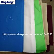 Custom sun shade sail PU polyester cloth 1.5m wide UV waterproof 95% shading Canva shell fabric 160g outdoor gazebo toldo