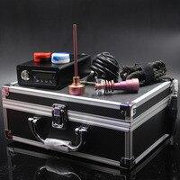 E papieros zmodernizowane pelikan elektryczny zimnica paznokci nail box kit regulator temperatury z titanium gwoździe kompletny zestaw