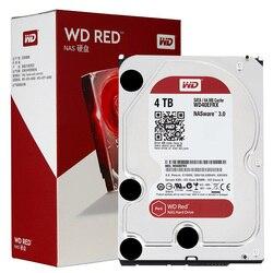 Western Digital 2T 3 ТБ 4 ТБ 6 ТБ 8 ТБ 10 ТБ красный NAS жесткий диск 5400 RPM класс SATA 6 ГБ/сек. 64MB кэш 3,5-дюймовый Decktop Nas