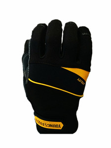 Image 2 - Genuine Highest Quality Performace Extra Durable Puncture Resistance Non slip Working Gloves(Black,XX Large).