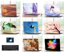 все цены на Laptop Shell Case Keyboard Cover Screen Film Protector For 11 13