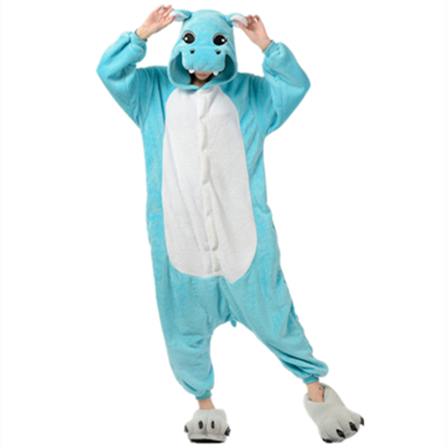 Anime Characters Jumpsuit : Anime cute hippo jumpsuit cosplay onesie children