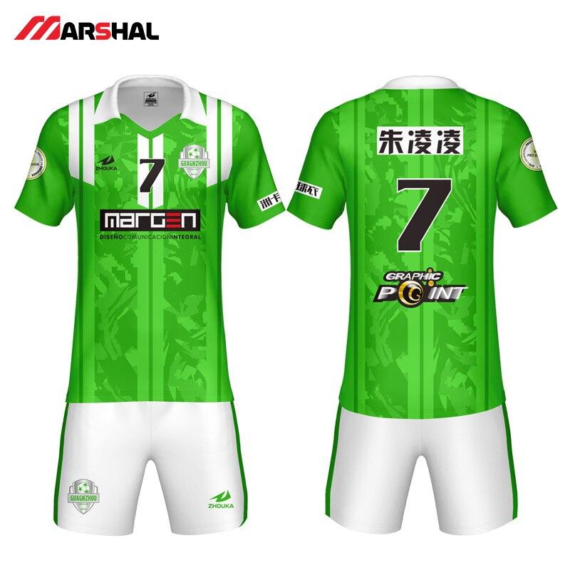 2b6e9ea7c80 2019 Hot new design sale soccer shirt maker custom blank jerseys team  uniform football kits make on line for adult or kids-in Soccer Sets from  Sports ...