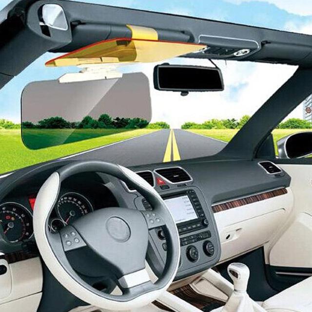HD Car Sun Visor Goggles for Driver Day & Night Anti-dazzle Mirror Sun Visors Clear View Dazzling Goggles Interior Accessories