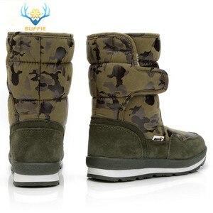 Image 5 - Ayakkabı erkekler kış sıcak botlar kamuflaj snowboot küçük boyutlu büyük ayak popüler yeni tasarım kürk astarı erkek stil ücretsiz kargo 41
