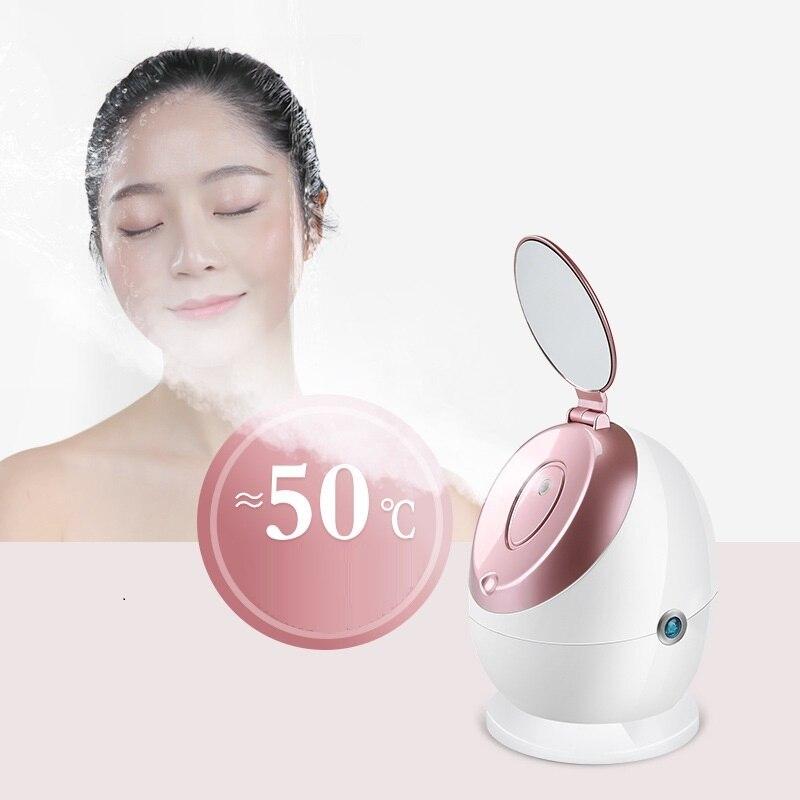 Facial Steamer Nano Ionic Hot Steam -Gezicht Stomer For Face Personal Sauna Moisturizing Face Sprayer Pores Blackheads Acne