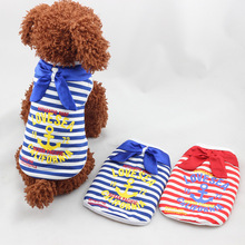 Hot Sale thicken warm pet clothes Winter double Layer clothing for dogs quality striped dog clothes winter pet products