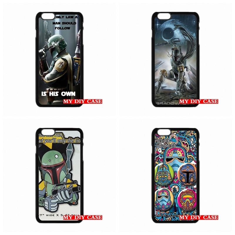 Star Wars 7 Boba Fett For iPhone SE 4 4s 5s 6s plus mobile Samsung Galaxy S3 S4 Mini s6 s7 edge