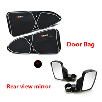 UTV ATV Left Right Door Handle Bag With Knee Pad For Polaris RZR XP 1000 900