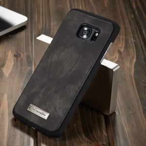 Image 4 - Capa de telefone para samsung galaxy s7 edge s8 s9 s10 plus s10e nota 8 9 10 pro caso multi funcional carteira couro ímã capa traseira