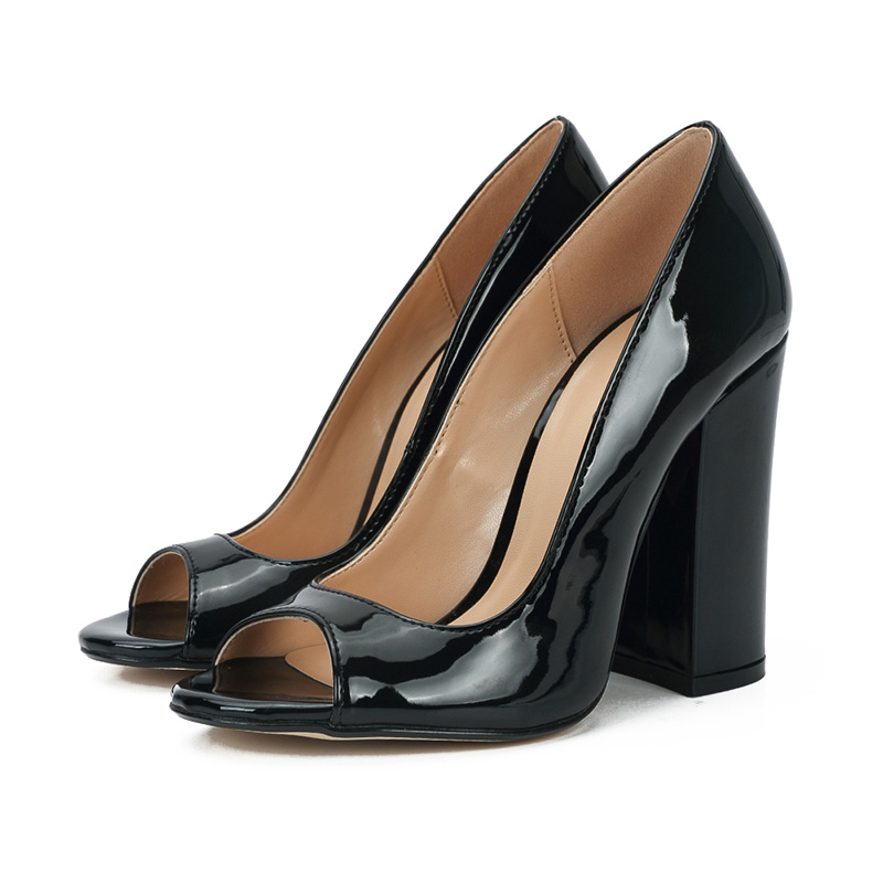 Fashion 11CM high heel women shoes small big size 37 48 open toe lady heels shoes