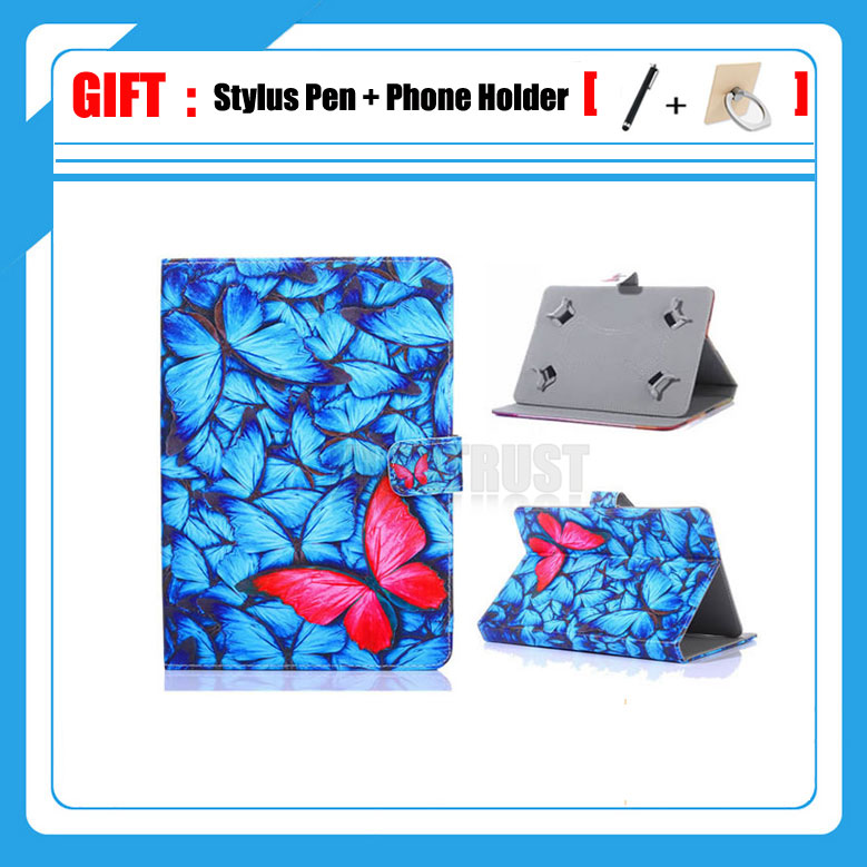 Universal Cover for Prestigio MultiPad Muze 5008/5018 3G 8 inch Tablet Printed PU Leather Stand Case (No camera hole) + Gift universal cover case for prestigio muze 3708 3718 3g wize 3418 3518 4g 8 inch tablet cartoon printed pu leather case 3 gift