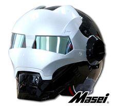 Мэри ребенок шлем MASEI ATOMIC-MAN железный человек 901 мотоциклетный шлем половина шлем черный флэш