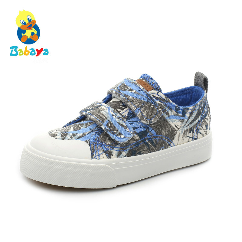 Kids Shoes For Girl Kids Canvas Shoes Boys Sports Shoes 2017 New Spring Autumn Fashion Children Cotton-made Shoes