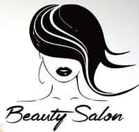 Beauty Salon Vinyl Wall Decal Model Girl Hair Beauty Salon Mural Wall Sticker Hair Shop Beauty Room Decorative Home Decoration