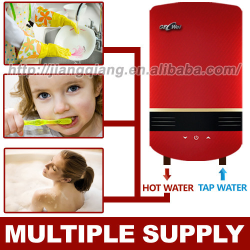 Instant tankless electric water heater fs