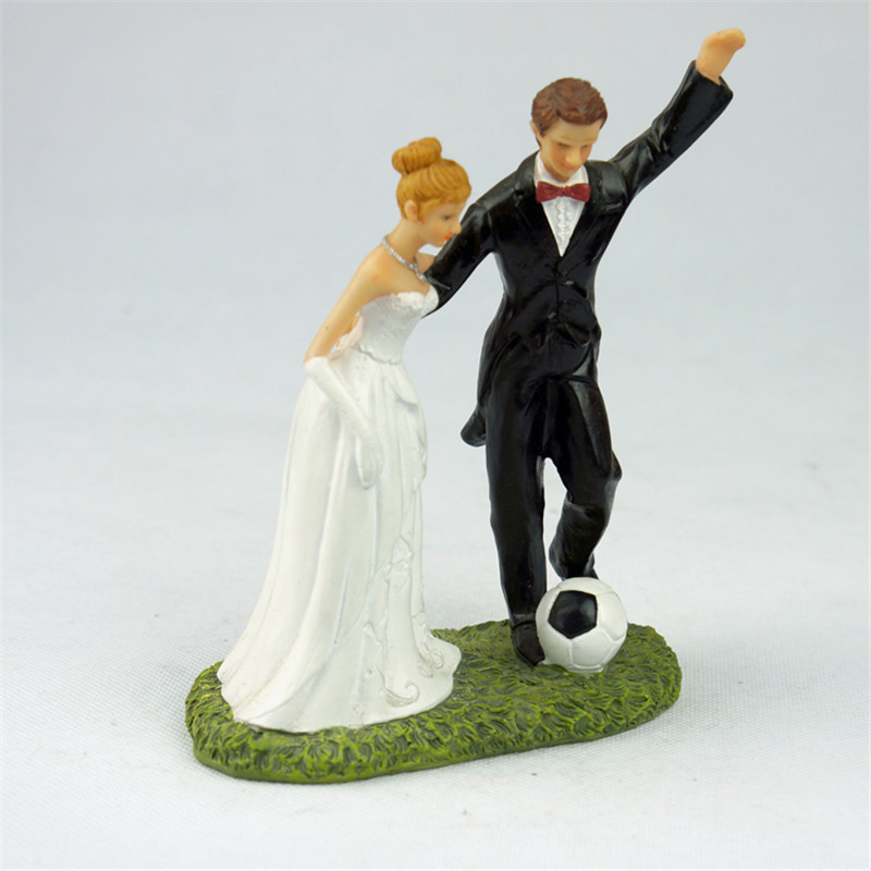 Online dating wedding cake topper