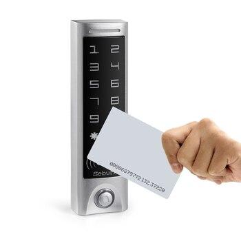 2000 users Gate opener Sebury metal waterproof 1 relay EM&H card reader wiegand keypad reader standalone access control