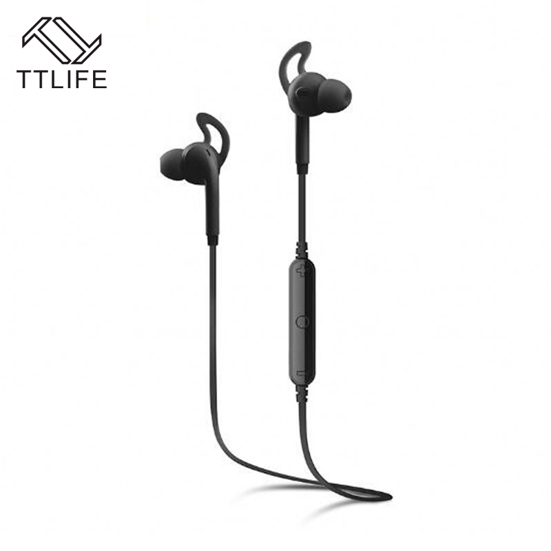 TTLIFE Bluetooth 4.1 Earphone Wireless Outdoor Sports Headphone Stereo Music headset CVC 6.0 with Mic for IOS Android smartphone ttlife bluetooth earphone