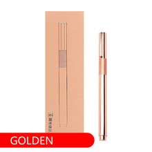 M&G stationery excellent metal engraved pen ink 0.38mm signature student office fountain AFPY1701