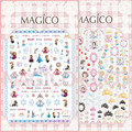 Ver detalle de hielo princesa blancanieves 2 DISEÑOS Más Nuevos 1 MAGICO serie del arte del clavo 3d pegatinas nail art decal stampingwholesale