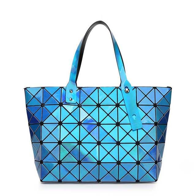 be551e4961 New Brand Messenger Bag Candy Colors Diamond Women Fashion Mirror Shoulder  Bag Geometry Sequins Mirror Plain