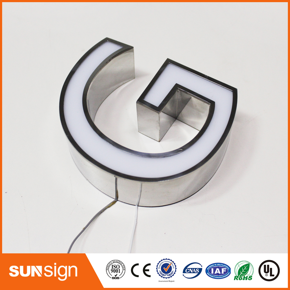 Steel Letters For Sale Aliexpress  Buy Hot Sale Electronic Panel Frontlit Stainless