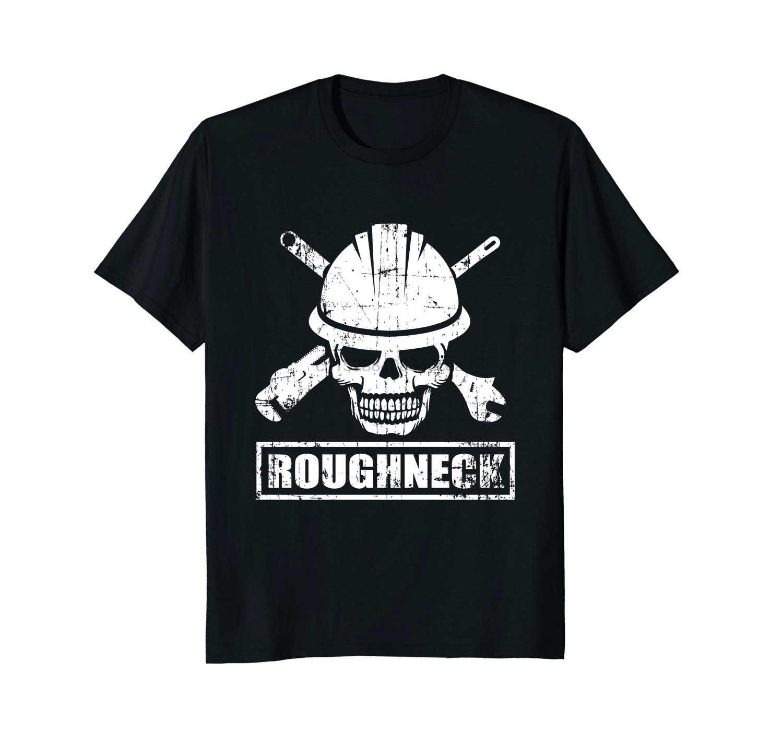 2019 nuova Estate di Alta Qualità Tee Shirt Roughneck Camicia Incredibile Texas del Giacimento di petrolio Camicia Fresca T Shirt