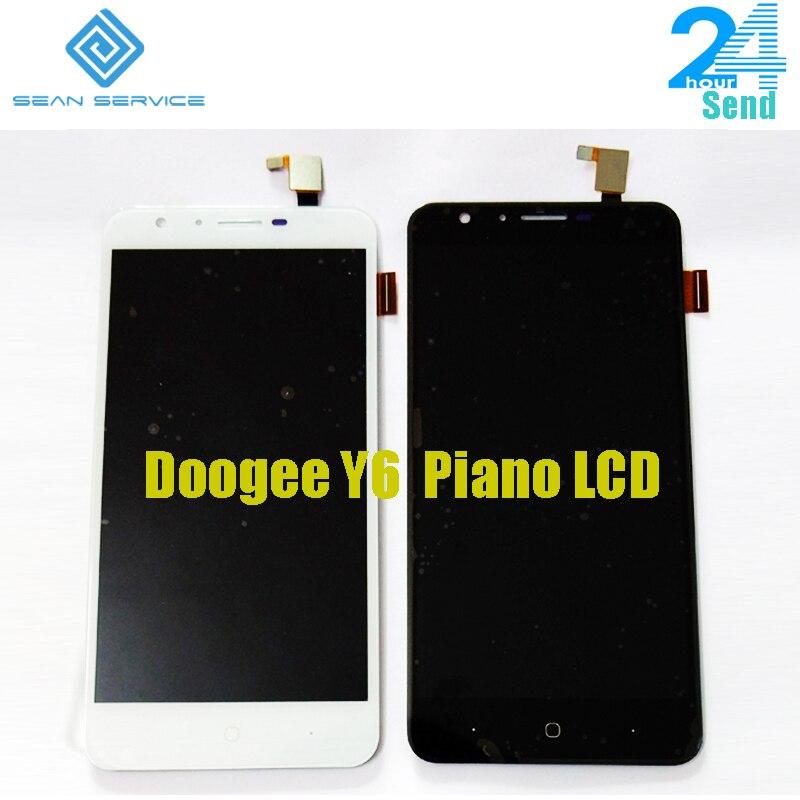 5,5 ''Für Original Doogee Y6 Klavier LCD Display und Touch Screen + Werkzeuge Digitizer Montage Ersatz 1280X720 p auf lager