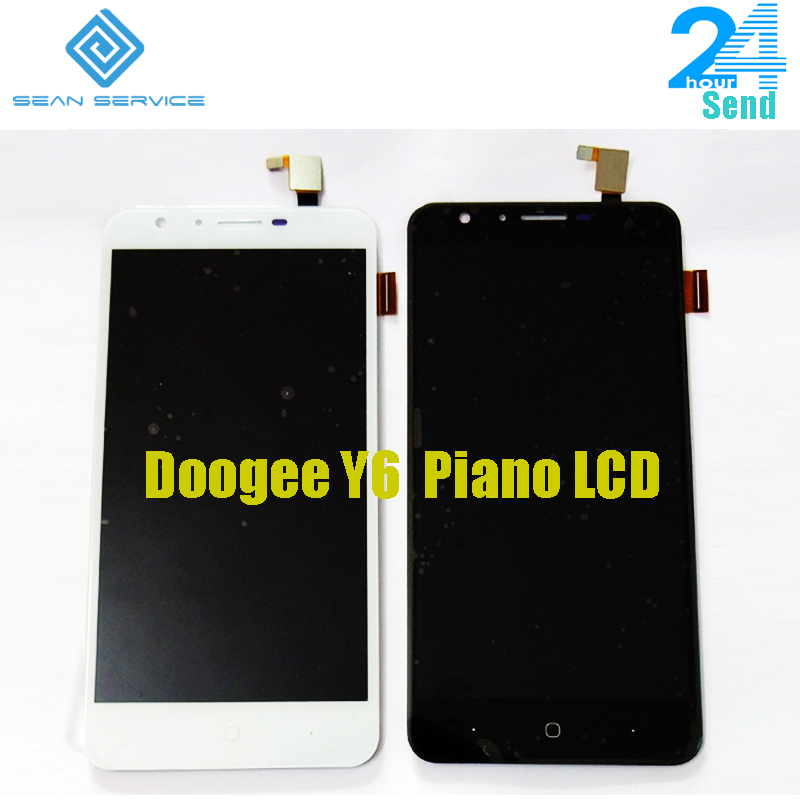 5.5 For Original Doogee Y6 Piano LCD Display and Touch Screen +Tools Digitizer Assembly Replacement 1280X720P in stock5.5 For Original Doogee Y6 Piano LCD Display and Touch Screen +Tools Digitizer Assembly Replacement 1280X720P in stock