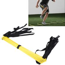 Free Shipping 5 rung 10 Feet 3m Agility Ladder for Soccer Speed Training Football Fitness Feet Training Equipment fitness training for soccer