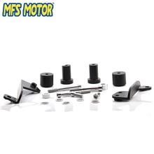 Freeshipping motorcycle parts No Cut Frame Slider For Honda 2003 2004 2005 2006 CBR 600RR CBR600RR RR Black