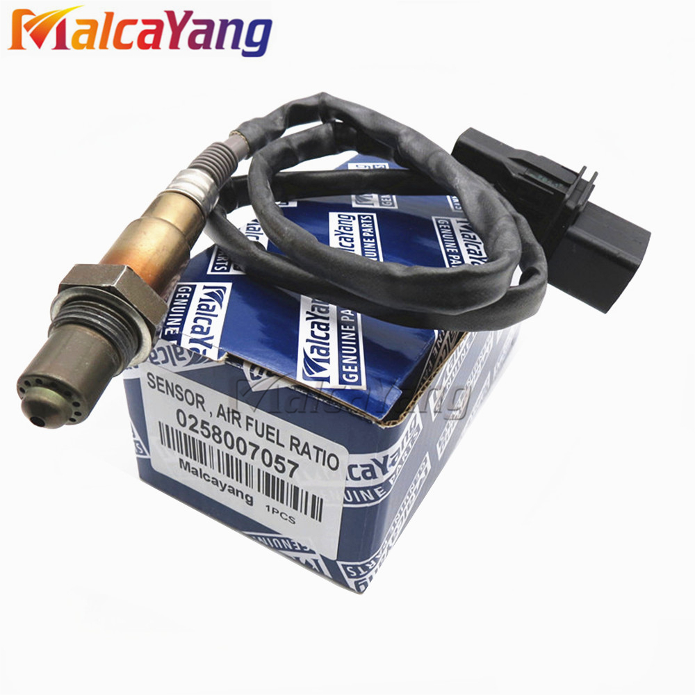 Car styling Oxygen Sensor Lambda 0258007351 AIR FUEL RATIO O2 SENSOR For Audi Skoda 99-05 VW Jetta 1.8L-L4 0258007057 image