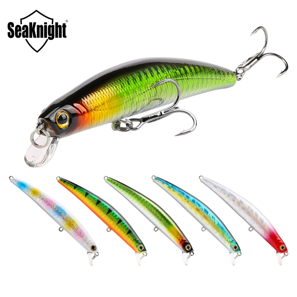 SeaKnight SK025 Minnow Fishing Lures 5Pcs/Lot 100mm 11g 0 0.5M Artificial Bait Floating Lure Wobblers Lifelike Peche minnow fishing artificial baitfishing lure - AliExpress